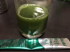 アサヒ「青汁と21種類の野菜」の味