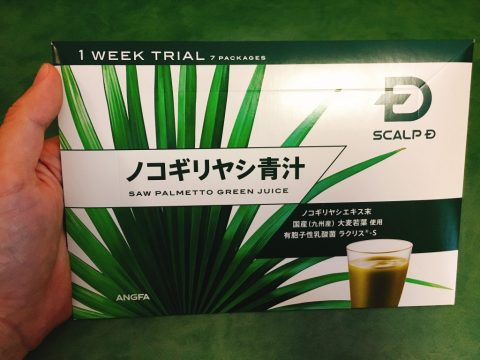 ノコギリヤシ青汁1